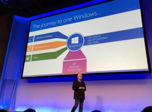 图:winhec 2015 keynote - Don Box - One Windows