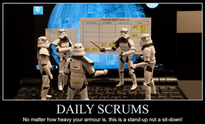 DailyScrumStarWar